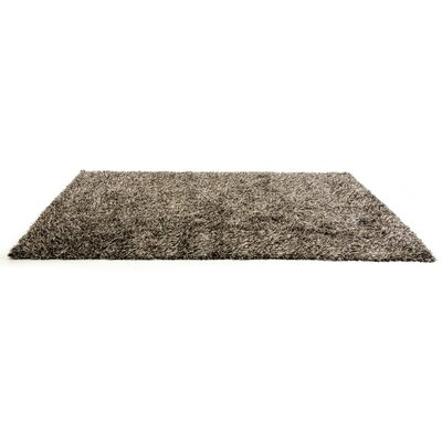 Clower by Linie Design Modern Brown Area Rug Rug Size: 710 x 57
