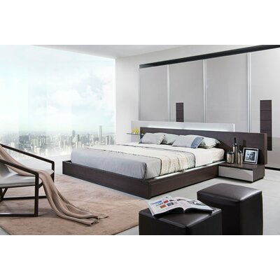Patterson Storage Platform Bed Size: Queen