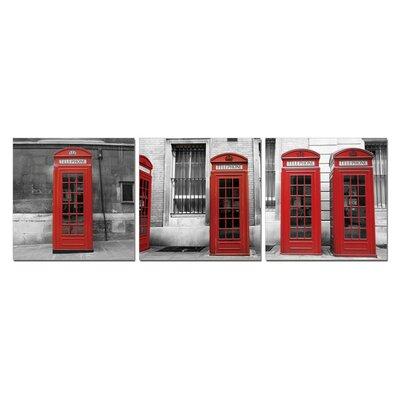 'Telephone' 3 Piece Photographic Print Set