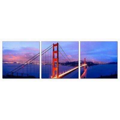 'San Francisco' 3 Piece Painting Print Set