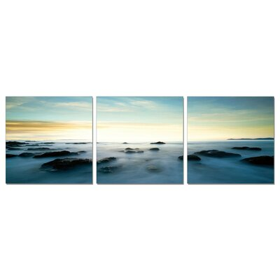 'Seascape' 3 Piece Photographic Print Set