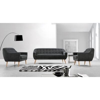 Issac 3 Piece Living Room Set