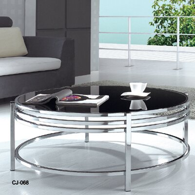 Patterson Coffee Table with Glass Top