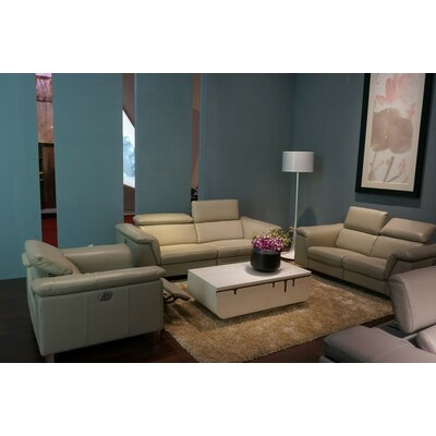 Northbridge Leather Sofa Set