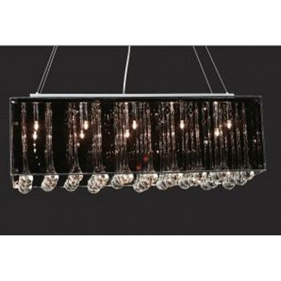 Patterson 10-Light Crystal Pendant