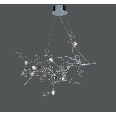 Clower 8-Light Crystal Pendant