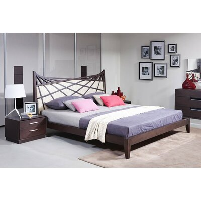 Clower Contemporary Upholstered Platform Bed Size: Queen