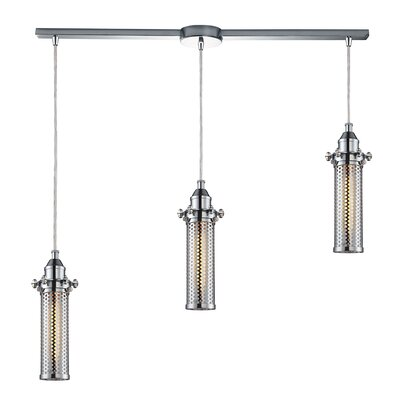 Rawlings Metal 3-Light Kitchen Island Pendant