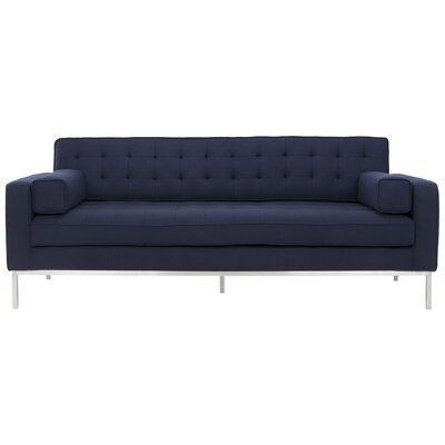 Boricco Sofa Finish: Navy