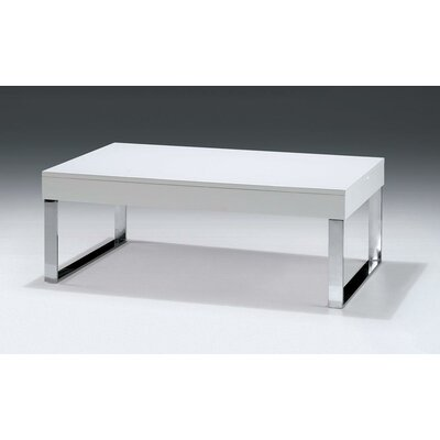 Camron Modern Steel Base Coffee Table