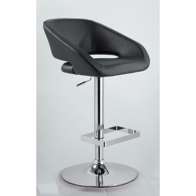Camron Modern Adjustable Height Swivel Bar Stool