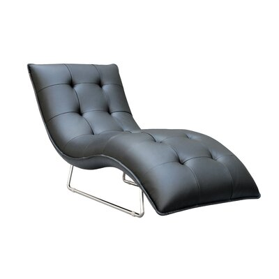 Alsatia Leather Chaise Lounge