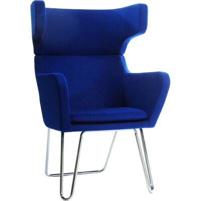 Belafonte Arm Chair Upholstery: Blue