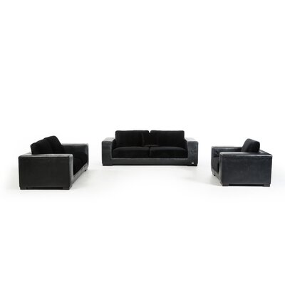 Alsatia 3 Piece Sofa Set