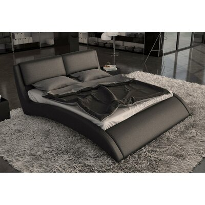 Belafonte Upholstered Platform Bed Size: Queen