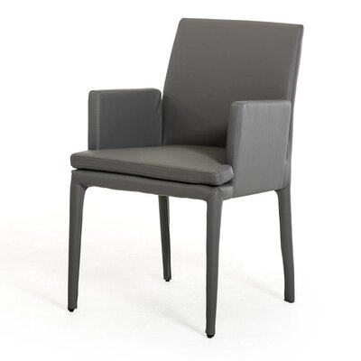 Belafonte Arm Chair Upholstery: Gray