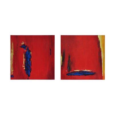 'Study' 2 Piece Painting Print Set