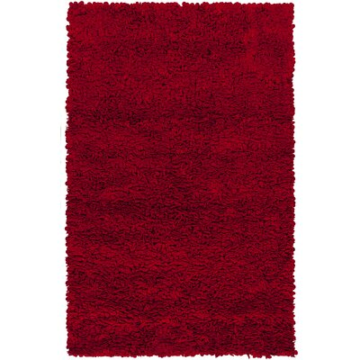 Beatriz Cherry Area Rug Rug Size: Rectangle 8 x 10
