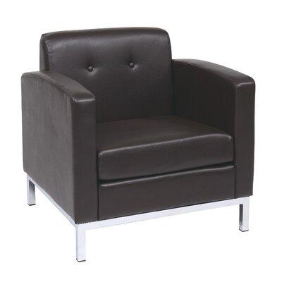 Mapleton Armchair Upholstery: Espresso