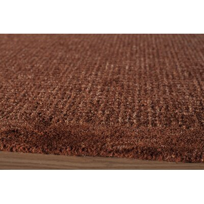 Rohan Hand-Tufted Rust Area Rug Rug Size: Runner 23 x 8