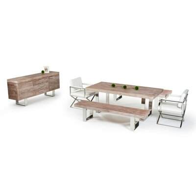 Camron Elm 6 Piece Dining Set