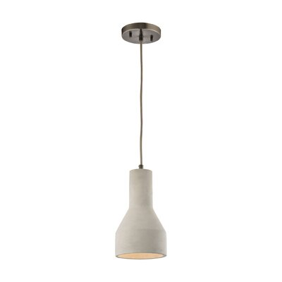Chamberlan 1-Light Mini Pendant Bulb Type: 9.5W LED
