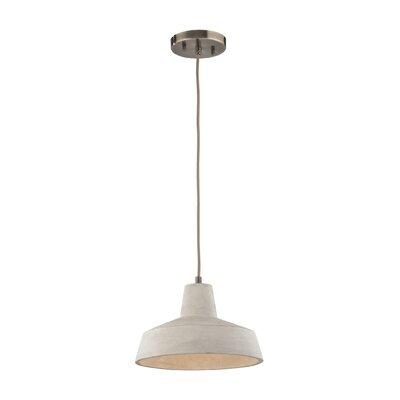 Chamberlan 1-Light Mini Pendant Bulb Type: 9.5W LED