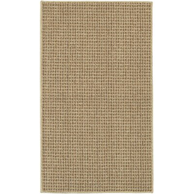 Waldron Brown Area Rug Rug Size: 18 x 26