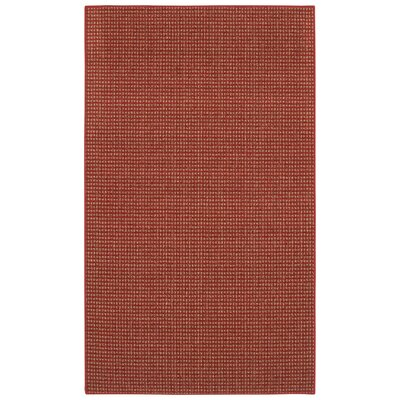 Steuben Red Area Rug Rug Size: Rectangle 1'8