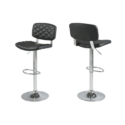 Memphis Adjustable Height Bar Stool with Cushion