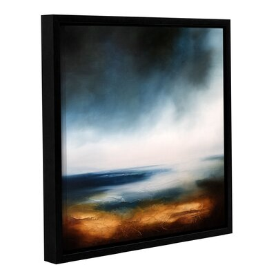 'Echoes of the Ocean' Framed Painting Print on Canvas Size: 10