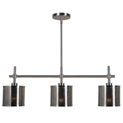 Messiah 3-Light Kitchen Island Pendant