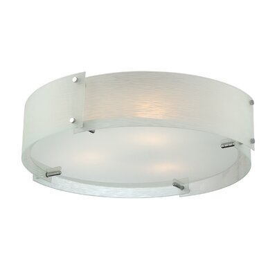 Shawmut 3-Light Flush Mount