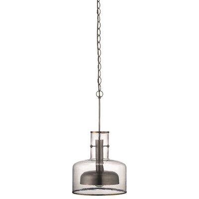 Behnke 1-Light Mini Pendant Finish: Nickel