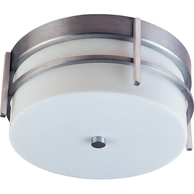 Cannella 2-Light Metal Outdoor Flush Mount