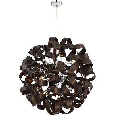 Loredo 12-Light Globe Pendant Size: 23 H x 23 W x 23 D
