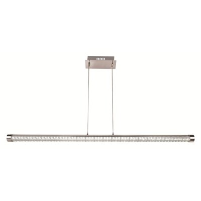 Dizon 1-Light Glass Kitchen Island Pendant