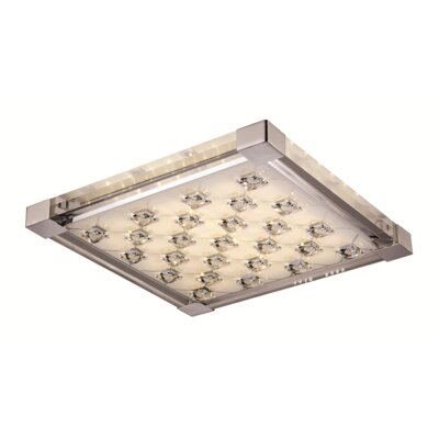 Diaundra 1-Light Flush Mount