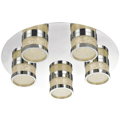 Maddy 5-Light Flush Mount