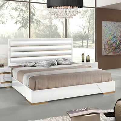 Eloisa Upholstered Panel Bed Size: Eastern King