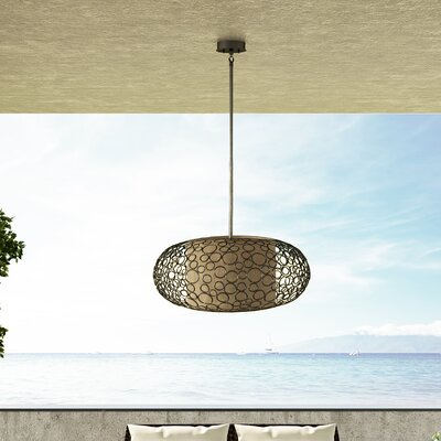 Cepeda 2-Light Bliss Drum Pendant