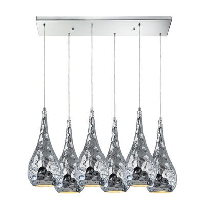 Aaden 6-Light Kitchen Island Pendant