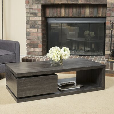 Delwood Coffee Table Finish: Pebble Gray