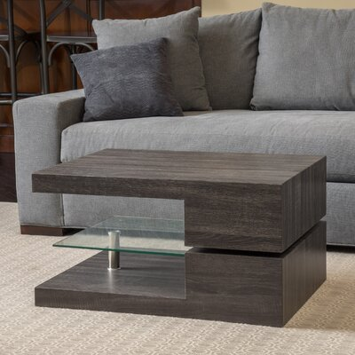 Delwood Coffee Table Color: Black Oak