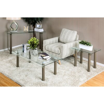 Hoedus 3 Piece Coffee Table Set