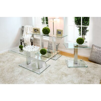 Errai 3 Piece Coffee Table Set