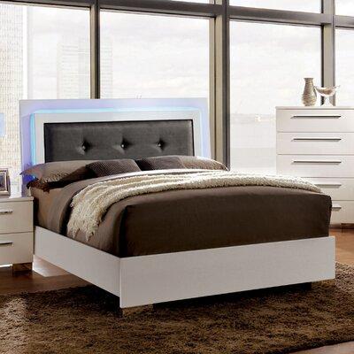 Derecho Upholstered Platform Bed Size: King