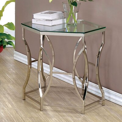 Frostia Contemporary End Table