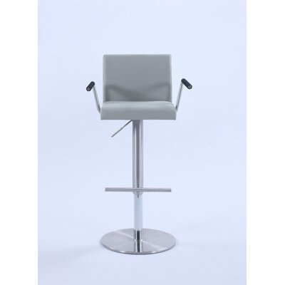 Knizair Adjustable Height Swivel Bar Stool