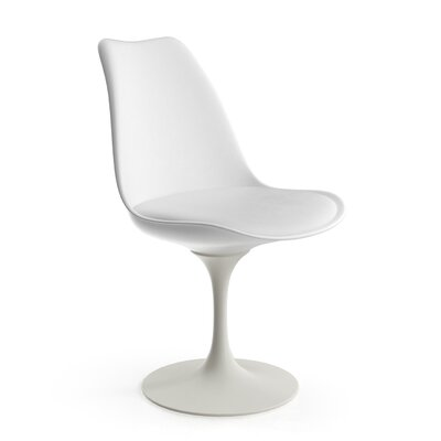 Cambray Side Chair Upholstery: White
